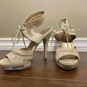 CALL IT SPRING boho inspired tie-up heels